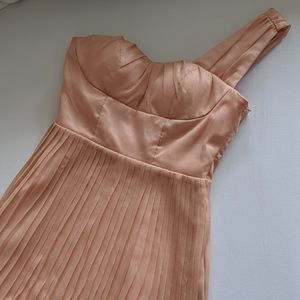 Coral cocktail dress size small